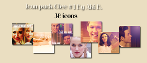 Icon Glee Pack #1 By Aki B. by AkiBrowning