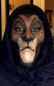 Scar Face Paint by 2034220p4rd1