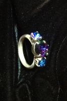Silver Heliotrope Ring by lilibat