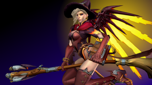 Overwatch (9d - Witch Mercy) by AdeptusInfinitus