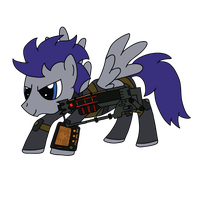 Frostwing in Fallout: Equestria (ID) by Xaphriel