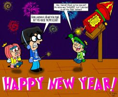 Happy New Year by Mr-Crocker