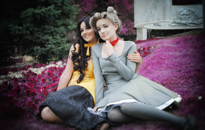 Sailor Moon Luna and Diana by LibeRitee