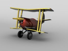 Dick Dastardly Plane by jkasapi