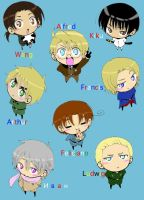 Hetalia Axis Powers -colored- by YuseiFudoFan1