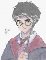 Harry Potter by sugarfairy7