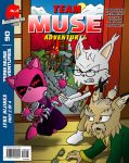 Team Muse Adventures #90 Mock Cover - Lynx Hijinks by CheVD