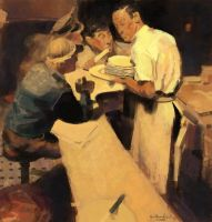 Norman Rockwell Master Study by JoshuaNel