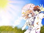 Sakura and Syaoran Happy Day by theTSUBASAgirl
