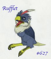 Rufflet by Iron-Zing