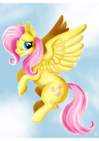 Shy flight by MyLittleBerneri