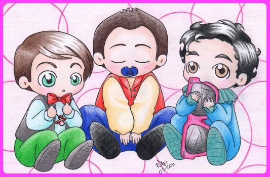 Babys Klainesky coloreados XD by Lusthyo