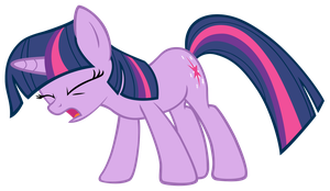 Twilight Sparkle Urghhhhhhhhhh by DrLonePony
