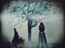 Death Whispered A Lullaby by anaPhenix