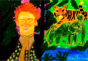 Author of French Tiger Tale Art Work by Emad-Kayyam