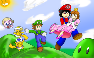 Super PokeSpe Bros. ~Commission~ by Xero-J