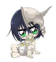 Baby Ulquiorra by Hatty-hime