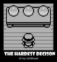 Hardest Decision by jay4gamers1