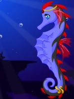 seahorse jessica by element-dragonx