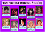 10 Biggest Babes by SyddyGurl by SyddyGurl