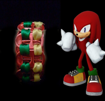 Knuckles Pop Tab Bracelet by Juliana-Nasome