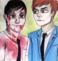 Frank and Gerard by PandorasBox341
