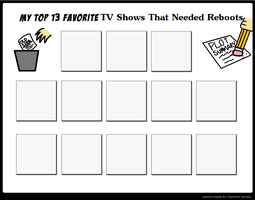 Top 13 Favorite TV Shows That Needed Reboots Meme by PrincessKatieForever