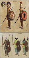 480BC Spartans concepts by ThanosTsilis