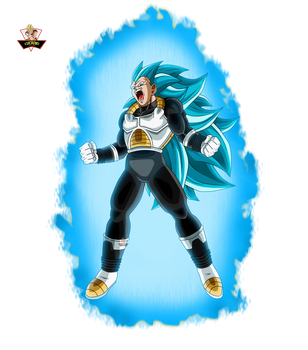 Vegeta Xeno Ssj3 Blue! by lucario-strike
