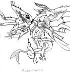 Raikoo Anima from Dragon Drive by LadyKaltag