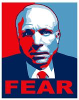 FEAR JOHN MCCAIN by donkeybaby