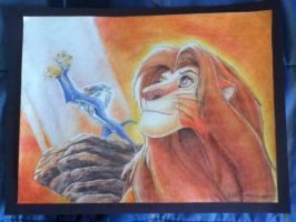 Lion King by EngineNewItTee