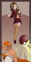 Poke Trainer Julie by lizspit