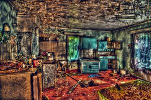 Abandoned House HDR Workshop by Joetamad