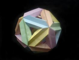 Icosahedron by lonely--soldier