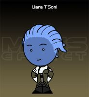 Mass Effect - Liara T'Soni by criz
