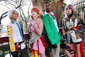 Final Fantasy Meet up At ikkicon 2012 by Claudillama