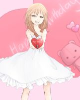 Happy b-day kairi~ by ushio4