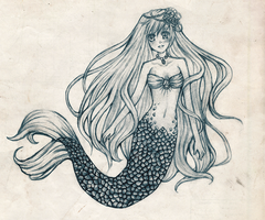 Petite Mermaid by Hakoinu