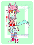 [ADOPTABLE] Pastel Girl (CLOSED) by Krooked-Glasses