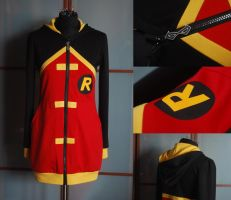 YOUNG JUSTICE: robin hoodie by envylicious