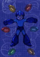 Rockman-Megaman one by BrothaBlu