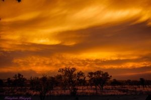 Another Outback Sunset by midnightrider79