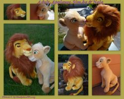 Adult Applause Simba And Nala by DoloAndElectrik