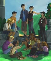 Pjo Commission by sharadaprincess