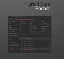 Myriad Base Foobar by linearradiation