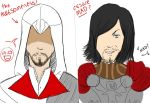 Ezio And Cesare ... Derp :B by RukiexRamen