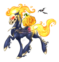 Spooky Nightmare Horse Pony Thing by RoomsInTheWalls