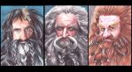Dwarves Three by SarahSilva
