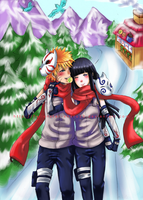 NaruHina_All i want for Xmas by tanginova